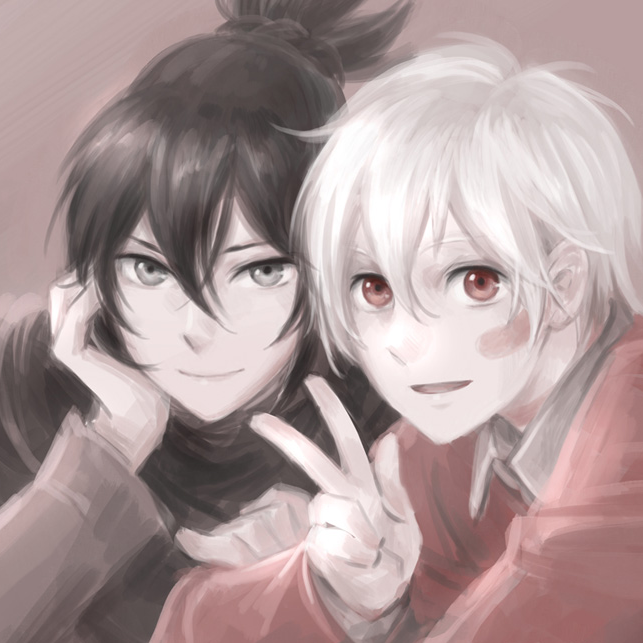 Nezumi x Shion by Snow124